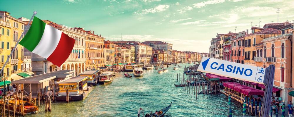 Casino-bestemming Italië