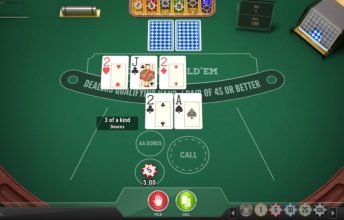 Play 'n Go Casino Hold'em spelen