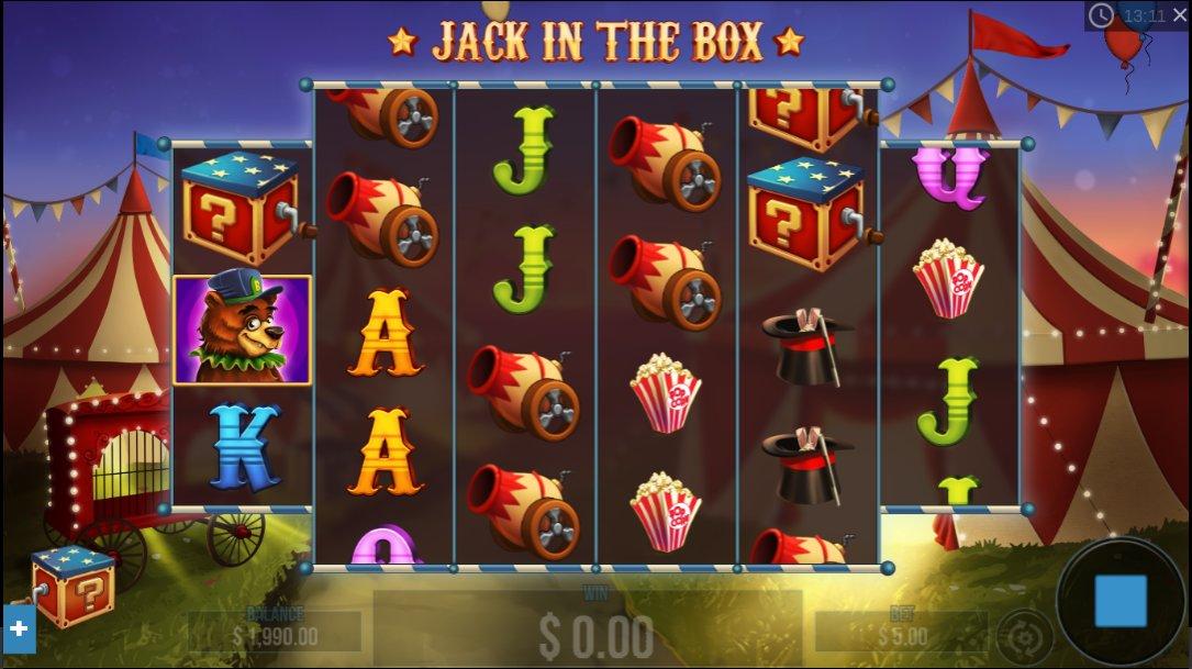 Pariplay Jack in the Box spelen