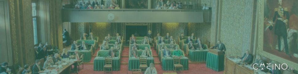eerste kamer plenaire vergadering wet kansspelen op afstand