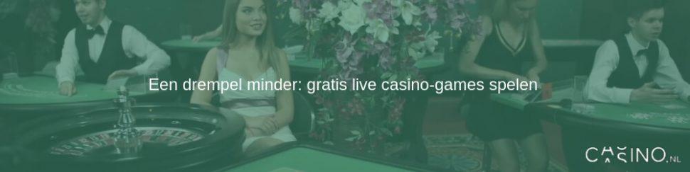 gratis live casino games spelen