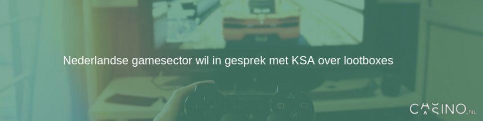 Nederlandse gamesector in gesprek met KSA over lootboxes