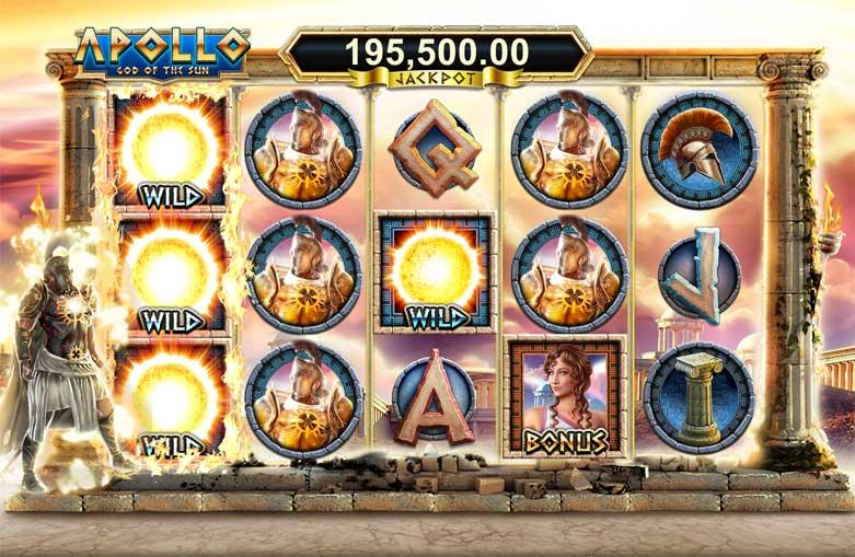 Leander Games Apollo God of the Sun spelen