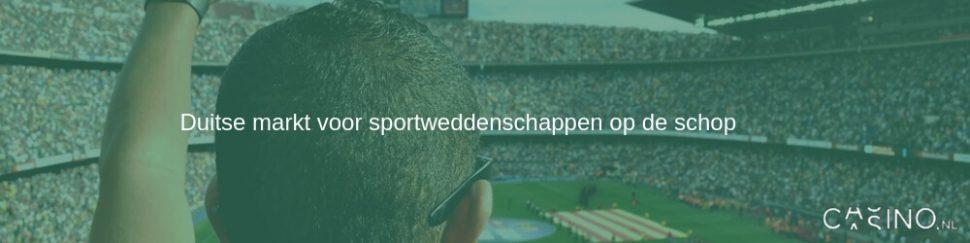 Duitse markt voor sportweddenschappen op de schop