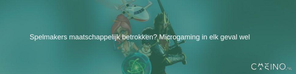 Microgaming doneert 30.000 pond aan liefdadigheid