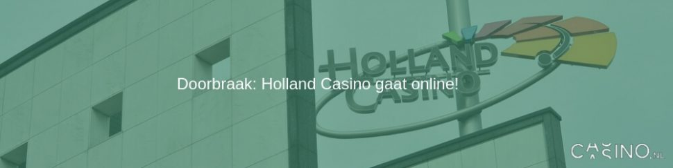 Holland Casino gaat online