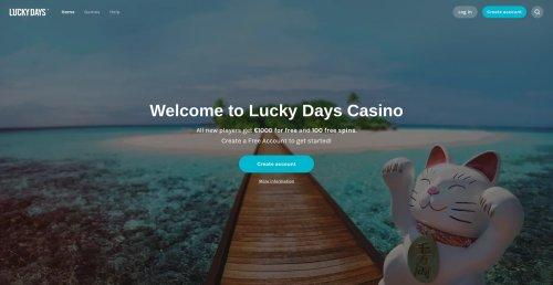 casino.nl casino review screenshot lucky days