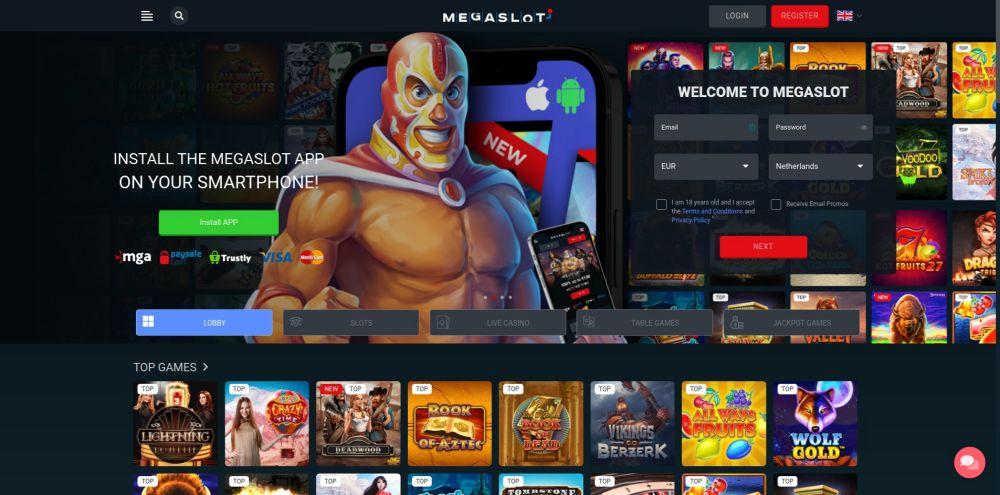 casino.nl megaslot screenshot februari 2021