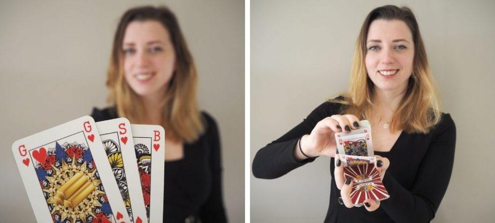 Foto's met dank aan Indy Wellink/gsb-playingcards.com