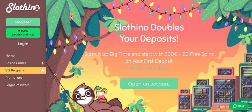 Slothino Casino review
