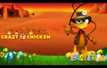 Super Duper Crazy Chicken Easter Egg spelen