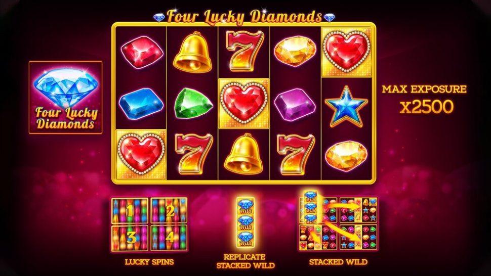 Four Lucky Diamonds spelen
