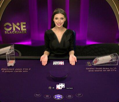 one blackjack spelen pragmatic play live