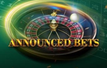European Roulette Announced Bets spelen