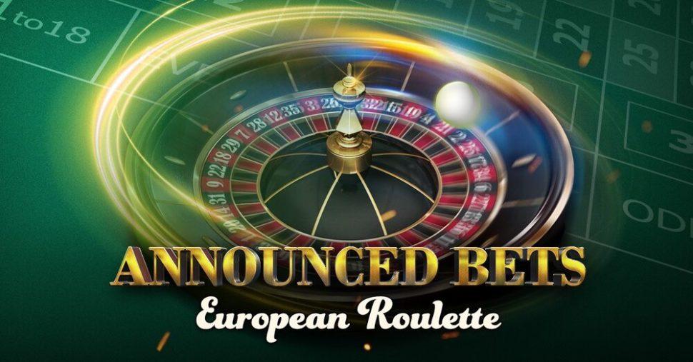 european roulette announced bets spelen