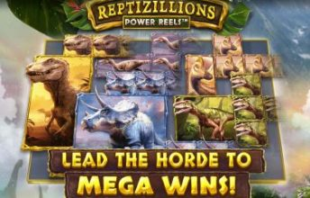 casino.nl review Reptizillions-Power-Reels videoslot by Red Tiger