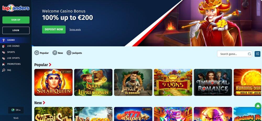 review van lapilanders casino